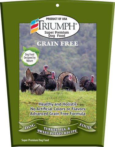 Triumph Grain Free Recipe Dog Food 3 Lb
