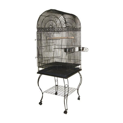 Image of A&E Cage Company - Economy Dome Top Bird Cage - 20 x 20 x 58 Inch