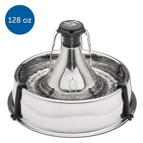 Image of PetSafe 360 Fountain Stainless Steel Fountain