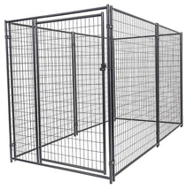 Lucky Dog™  6'H x 5'W x 10'L Chain Link Pet Kennel CL 46150