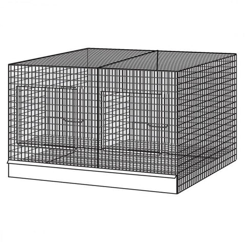 (2x) All Purpose Bird Cage, Galvanized