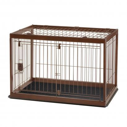 Image of Richell Wooden Pet Crate