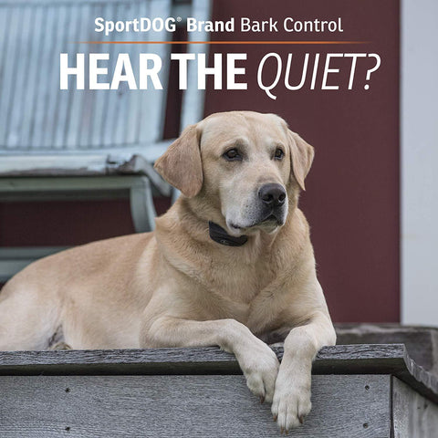 SportDOG  Anti Bark Collar SBC-10 Waterproof Bark Control Device