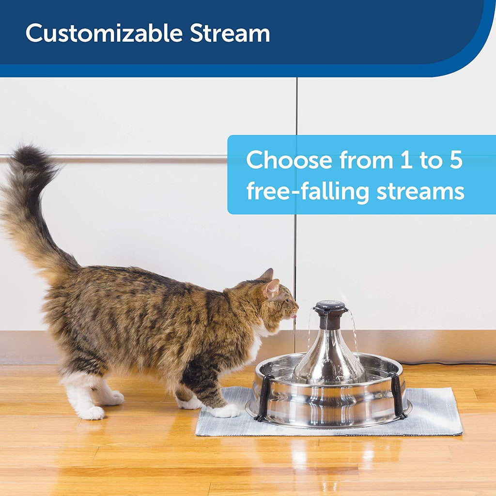 PetSafe 360 Fountain Stainless Steel Fountain