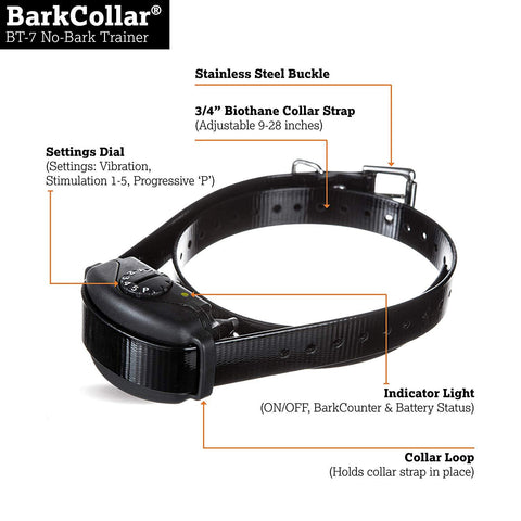 DogWatch BT-7 No-Bark Training Collar