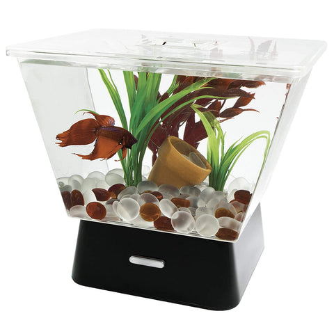 Image of Tetra Betta Tank with LED Base Lighting- 1 Gallon
