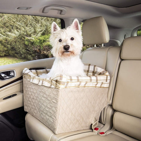 Image of PetSafe Solvit Jumbo Pet Safety Car Seat for Dogs and Cats Designed For Dogs Cats under 35 lb.