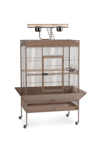 Image of Prevue Pet Select Wrought Iron Play Top Parrot Cage