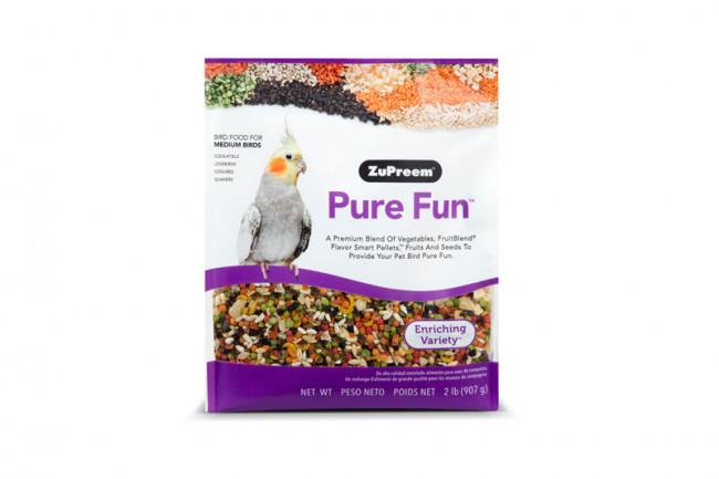 ZuPreem Pure Fun Medium, 2 lb.