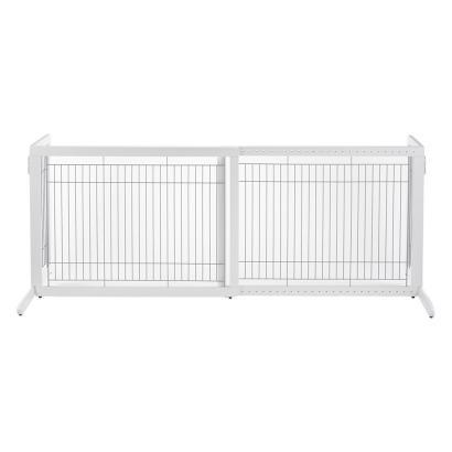 "Image of Richell Freestanding Pet Gate HL For Medium Dogs 39.4"" to 70.9"" Wide"