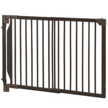 Richell Expandable Walk-Thru Pet Gate For Medium Size Dogs Up To 44 lbs