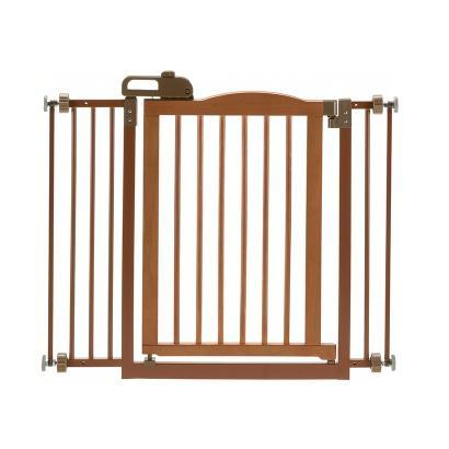Image of Richell One-Touch Gate II Autumn Matte