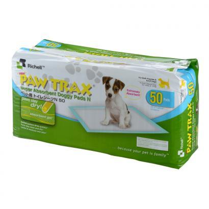 PAW TRAX Doggy Pads 50 Pack