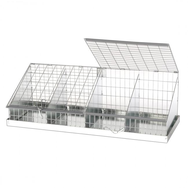 KW cages Cavy Collapsible Judging Cage, 4 Comps (8x12)