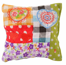 Patchwork Sack, Cushion, or Pillow Cat Toy