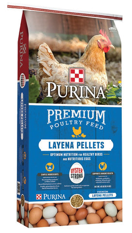 Purina Chicken Layena Pellets, 50 lb.