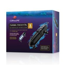 Coralife Turbo Twist 3X UV Sterilizer, 9W