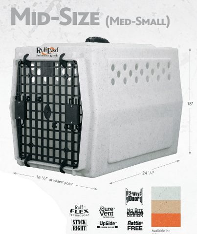 Ruffland Performance Mid-size Kennel