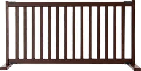 "Image of 20"" Kensington FreeStanding Wood Pet Gate"