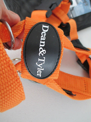 Nylon Harness For Extra Small To Extra Large Dogs Orange