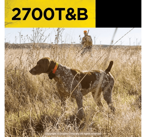 Dogtra 2700 T&B 1-Mile Training & Beeper Collar For 1 Dog