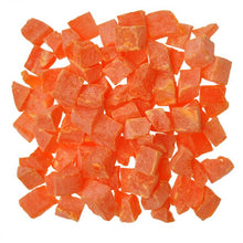 KW Cages Dried Papaya Cubes, 6 oz. - 11 lbs.