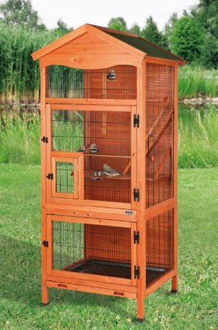Image of Trixie Pet Natura Aviary Brown