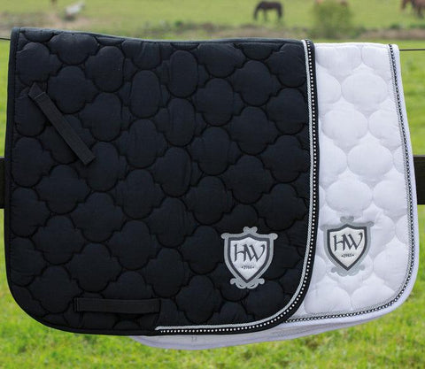 Rambo Diamante Show Jumping Saddle Pad