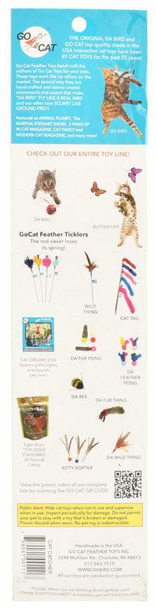 Go Cat Teaser Cat Catcher Wand & Toy