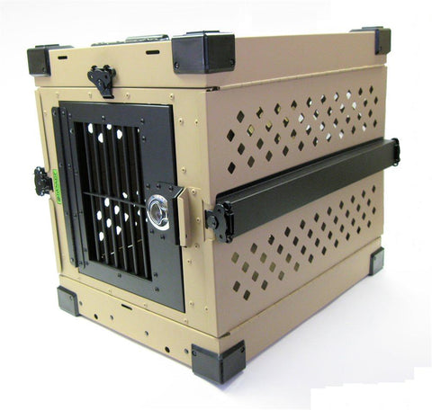 Impact Dog Crates Folding & Collapsible Dog Crate- Small