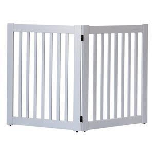 Highlander Series Solid Wood Pet Gate - 2 Panel