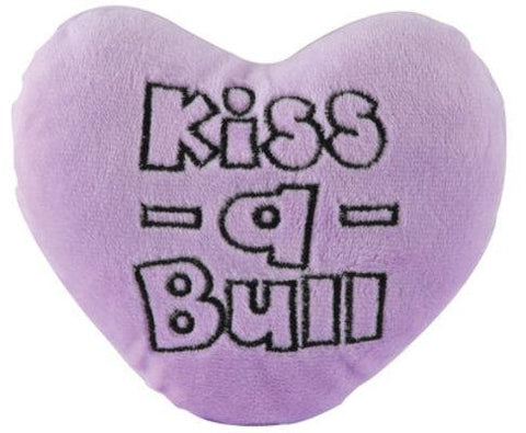 Image of Kiss-A-Bull Plush Conversation Hearts