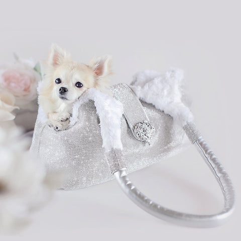 Limited Edition Luxury Imperial Crystal Dog Carrier