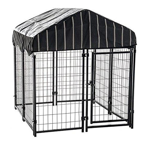 "Lucky Dog Pet Resort Kennel w/Cover - 52""H x 4'W x 4'L"