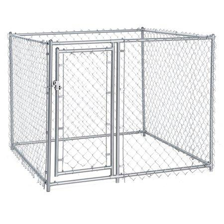 Image of Lucky Dog Galvanized Chain Link Kennel
