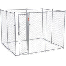 Lucky Dog™  Chain Link Boxed Kennel 6'H x 5'W x10'L or 6'H x 8'W x 6.5'L