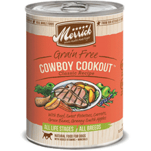 Merrick® Cowboy Cookout Canned Dog Food Case of 12 - 13oz cans