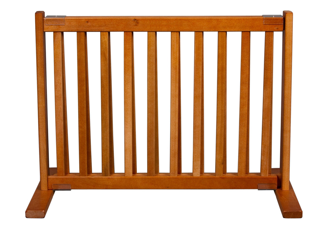 "20"" Kensington Series Freestanding Solid Wood Pet Gate- Amish Handcrafted Wood"