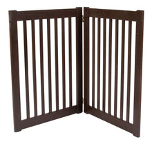 32 inch Highlander Series Solid Wood Pet Gate- Amish Handcrafted Wood