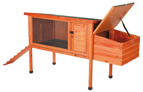 Image of Trixie Natura Chicken Coop 1-Story with Ramp