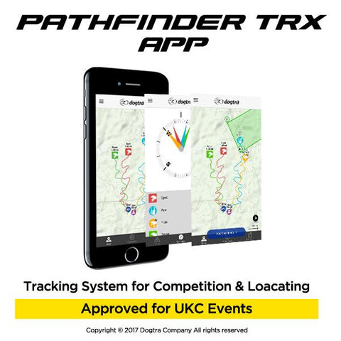 Dogtra Pathfinder TRX GPS Tracking System ONLY- 1 Dog