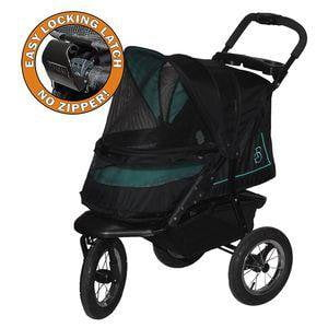 Image of Pet Gear Single And Multiple Pet Stroller- NV NO-ZIP Stroller