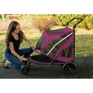 Pet Gear Single And Multiple Pet Stroller- NO-ZIP Expedition
