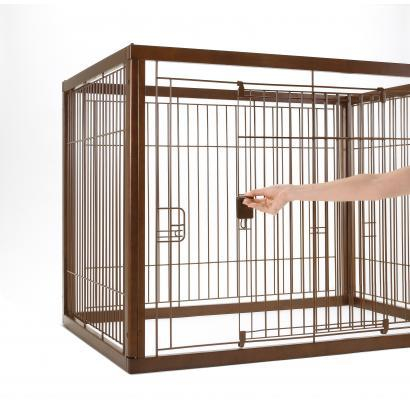 Richell Wooden Pet Crate