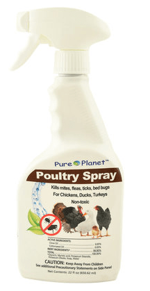 Pure Planet Poultry Spray,Non-Toxic, RTU