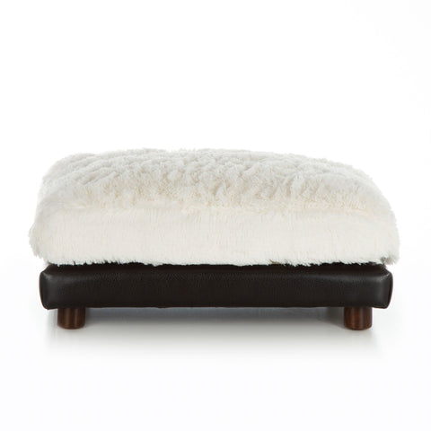 Club Nine Pets Soho Milo Faux Leather Pet Bed
