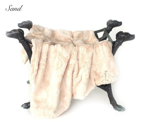 Luxe Luxury Faux Fur Dog Blanket
