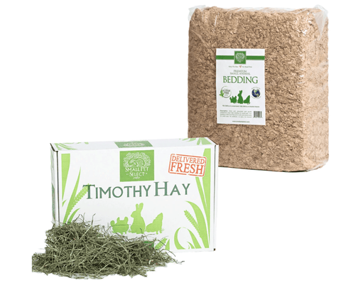 Small Pet Select Premium 2nd Cut Timothy Hay Small Animal Starter Kit