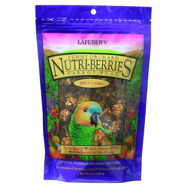 Wingz Avian Products Sunny Orchard Nutri-Berries Parrot, 10 oz. - 3 lbs.