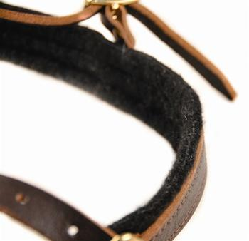"Image of ""The Cowboy"" Leather Harness For Small To Extra Large Dogs"